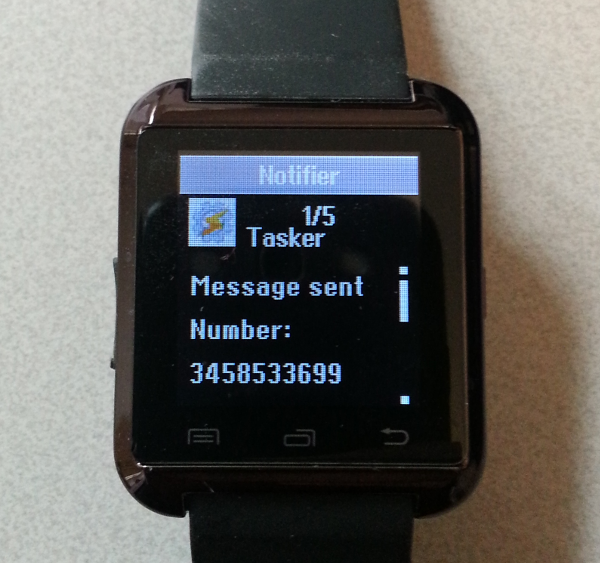 bt notifier app for hype watch